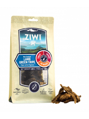 ZIWI Lamb Green Tripe Front of Pack with Chews