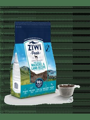 ZIWI Peak Air-Dried Mackerel & Lamb For Dogs 4kg