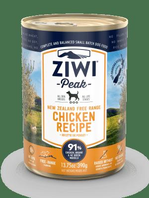 Ziwi Peak Chicken Dog Can 390g