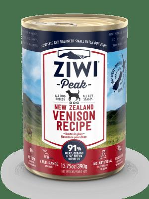 Ziwi Peak Venison Dog Can 390g Front View