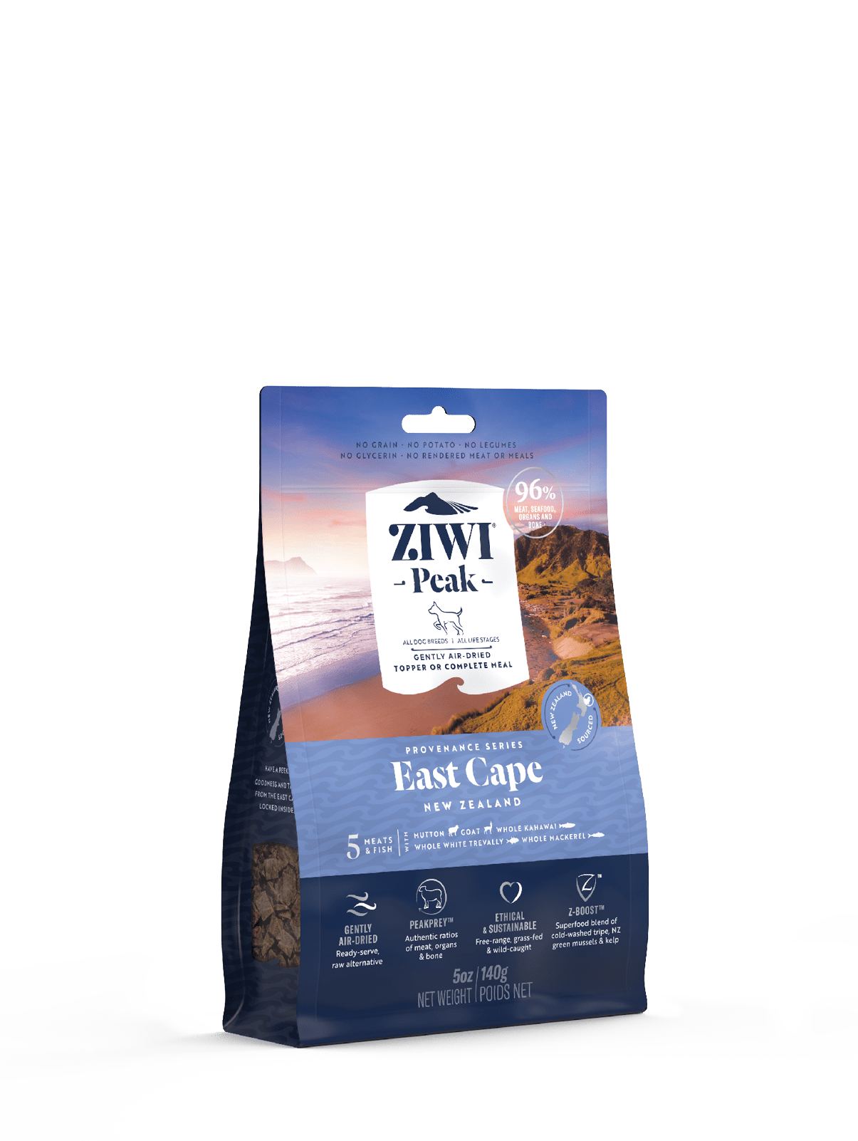 Ziwi Peak Mackerel & Lamb Dog Food Can 390g Front View